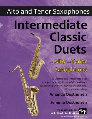 INTERMEDIATE CLASSIC DUETS for Alto & Tenor Saxophones