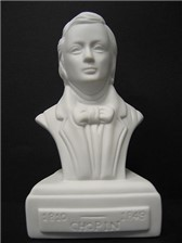 COMPOSER BUST Chopin (Porcelain)