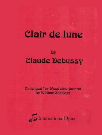 CLAIR DE LUNE (score & parts)