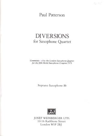 DIVERSIONS (set of parts)