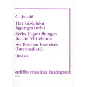 SIX BASSOON EXERCISES Intermediate