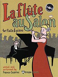 LA FLUTE AU SALON + CD