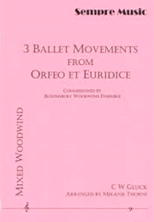 THREE BALLET MOVEMENTS from Orfeo score & parts
