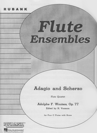 ADAGIO AND SCHERZO