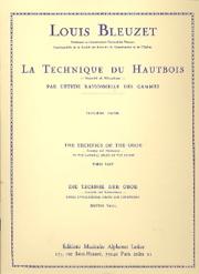 LA TECHNIQUE DU HAUTBOIS Volume 3