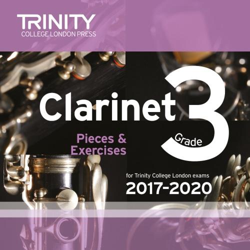 CLARINET PIECES 2017-2020 Grade 3 CD