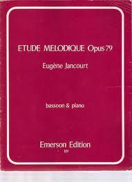MELODIC ETUDE in e minor Op.119
