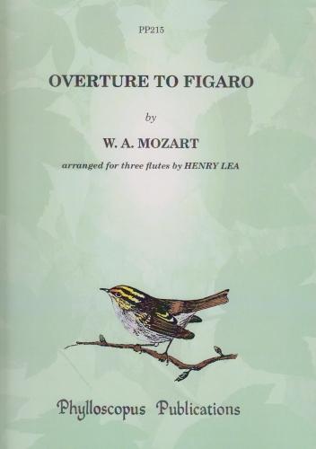 OVERTURE TO FIGARO (score & parts)