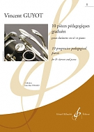 10 PROGRESSIVE PEDAGOGICAL PIECES Volume 1