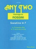 HOMAGE TO ROSSINI Sonatina in F