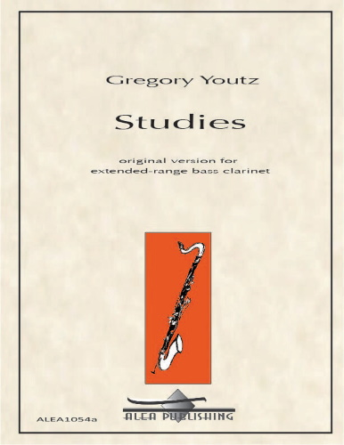 STUDIES FOR BASS CLARINET (Original version - extended range)
