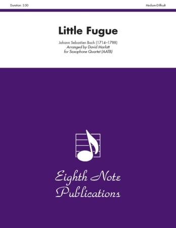 LITTLE FUGUE (score & parts)