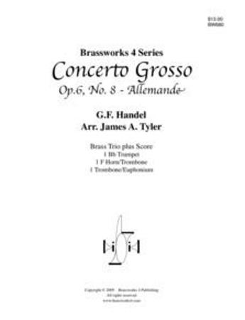 CONCERTO GROSSO Op.6, No.8 Allemande