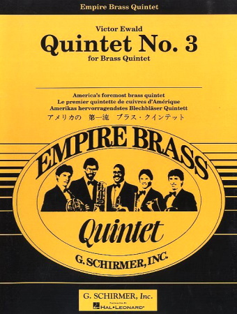 QUINTET No.3 in Db major (score & parts)