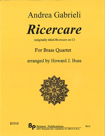 RICERCARE score & parts