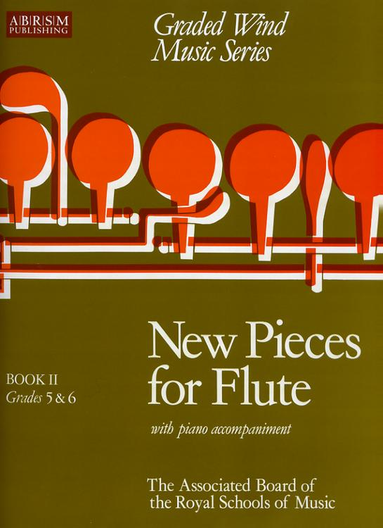 NEW PIECES FOR FLUTE Book 2 Gr. 5-6