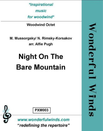 NIGHT ON THE BARE MOUNTAIN (score & parts)