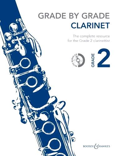 GRADE BY GRADE Clarinet Grade 2 + CD