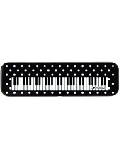 TIN PENCIL CASE Keyboard Design (Polka Dot)