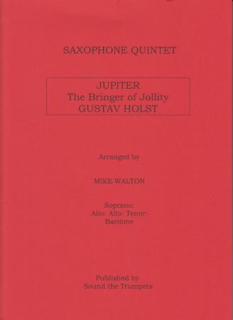 JUPITER The Bringer of Jollity (score & parts)