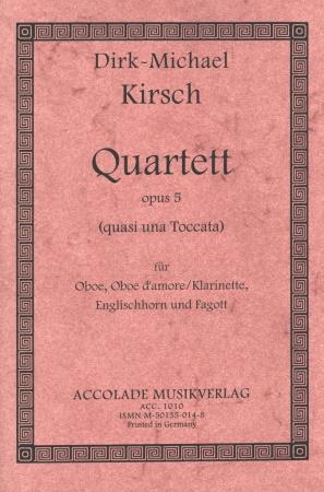 QUARTET Op.5 score & parts
