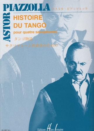HISTOIRE DU TANGO (score & parts)