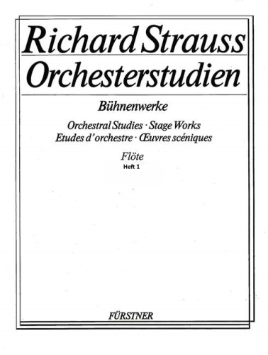 ORCHESTRAL STUDIES Volume 1 Stage Works