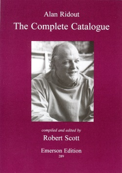 ALAN RIDOUT The Complete Catalogue