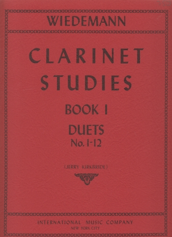 CLARINET STUDIES Book 1: Duets 1-12