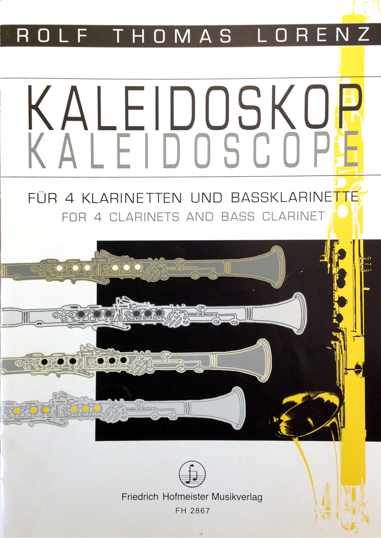 KALEIDOSCOPE score & parts