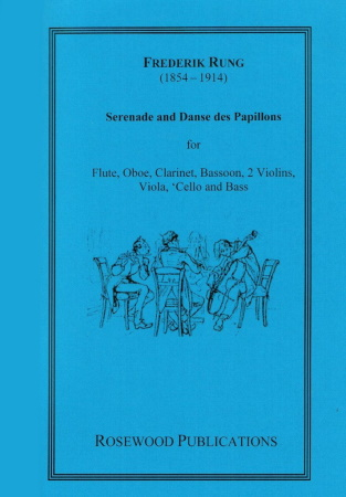 SERENADE and DANSE DES PAPILLONS (score & parts)