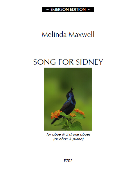 SONG FOR SIDNEY - Digital Edition