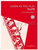 LEARN AS YOU PLAY FLUTE + CD