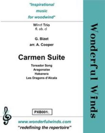 CARMEN SUITE (score & parts)