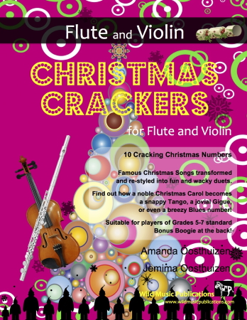 CHRISTMAS CRACKERS for Flute & Violin