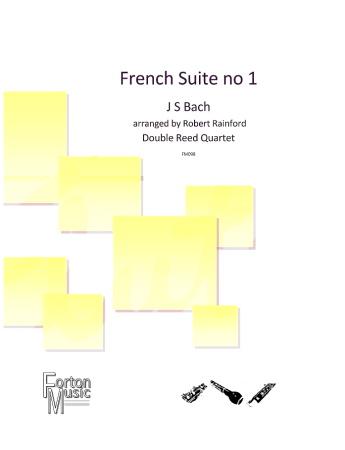 FRENCH SUITE No.1 (score & parts)