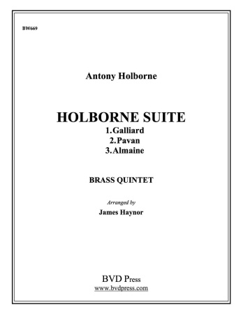 HOLBORNE SUITE (score & parts)