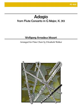 ADAGIO from Flute Concerto K313 (score & parts)