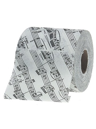TOILET PAPER Sheet Music