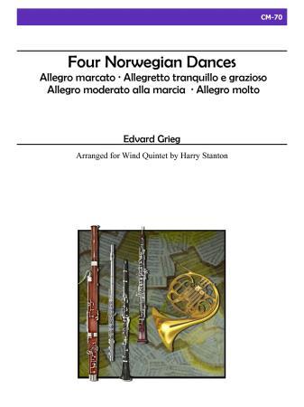 FOUR NORWEGIAN DANCES (score & parts)