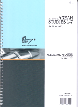 ARBAN STUDIES 1-7 for Horn in Eb