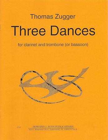 THREE DANCES score & parts