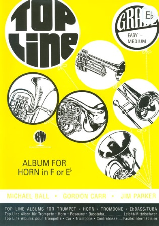 TOP LINE ALBUM (treble clef)