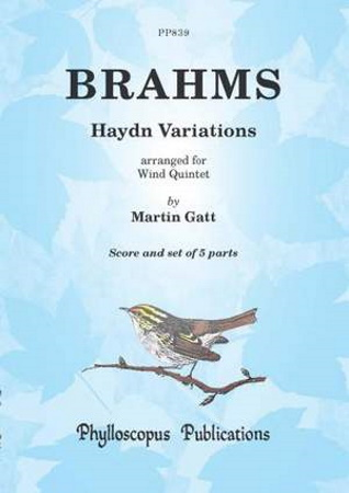HAYDN VARIATIONS (score & parts)