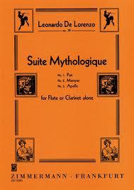 SUITE MYTHOLOGIQUE Pan, Marsyas, Apollo