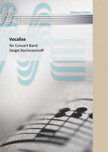 VOCALISE (score & parts)