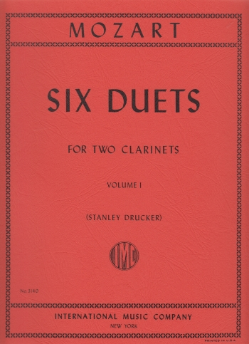 SIX DUETS Op.70 Volume 1