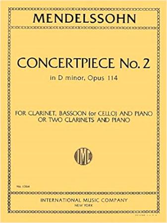 CONCERTPIECE No.2 in D minor Op.114