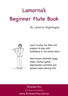 LAMORNA'S BEGINNER FLUTE BOOK