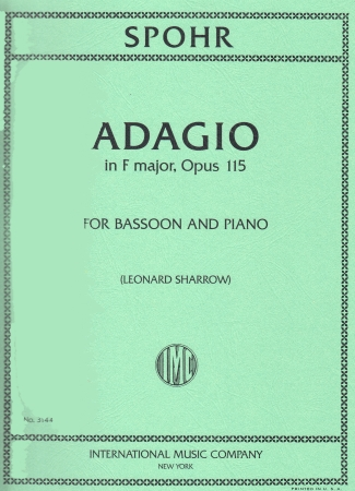 ADAGIO in F major, Op.115